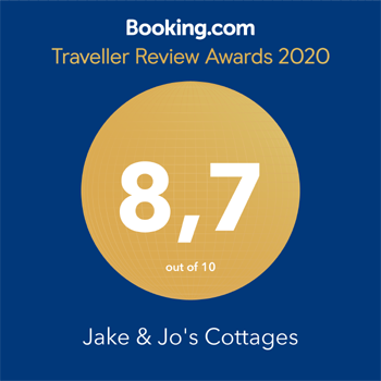 Booking.com Traveller Review Awards 2020 8.7 out of 10